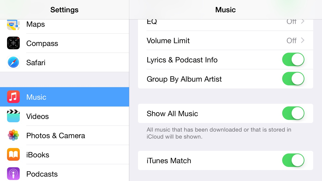 How do I find and remove only downloaded tracks with iTunes Match? 1