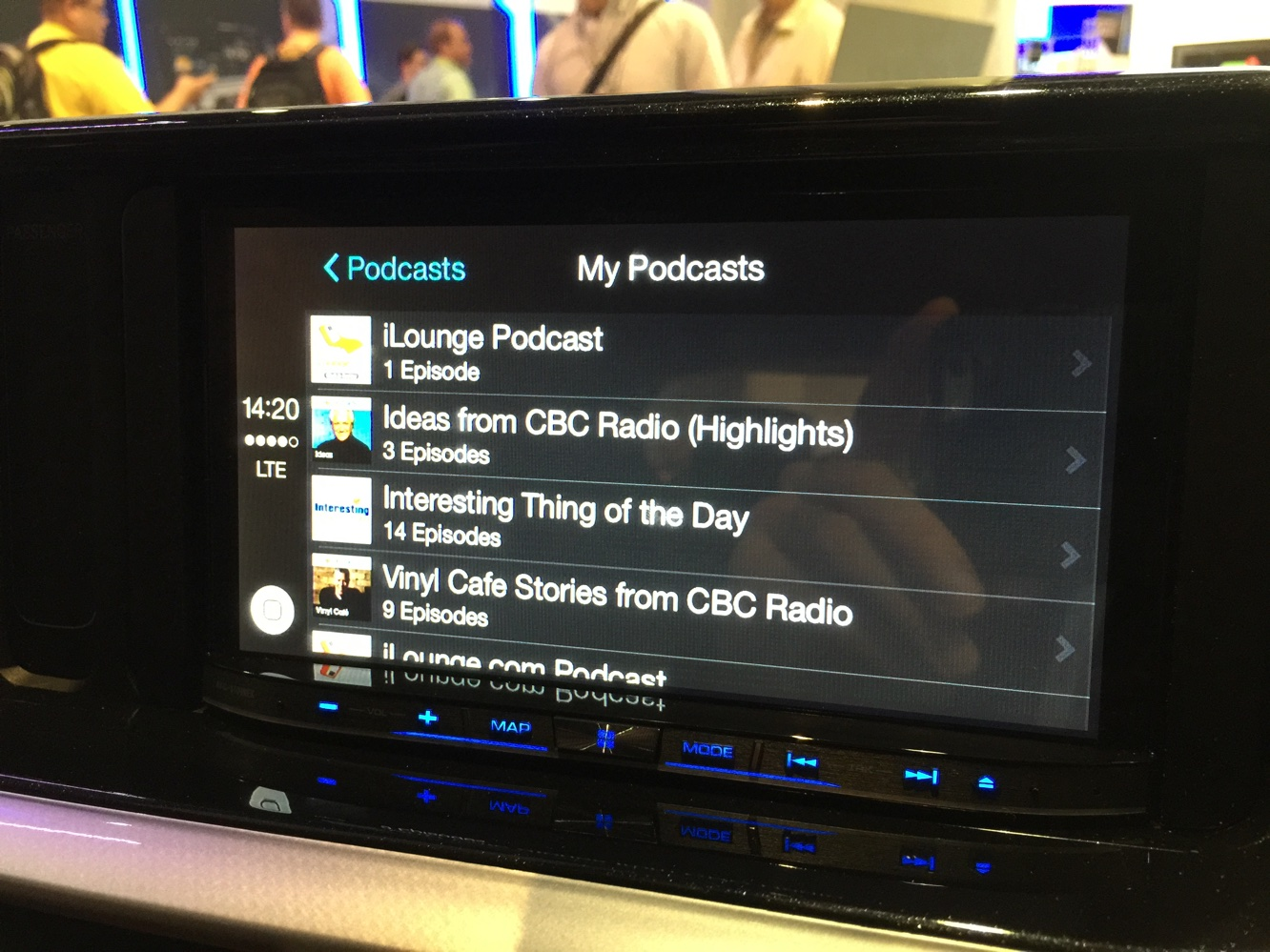 Hands-on with CarPlay at CES 2015 8
