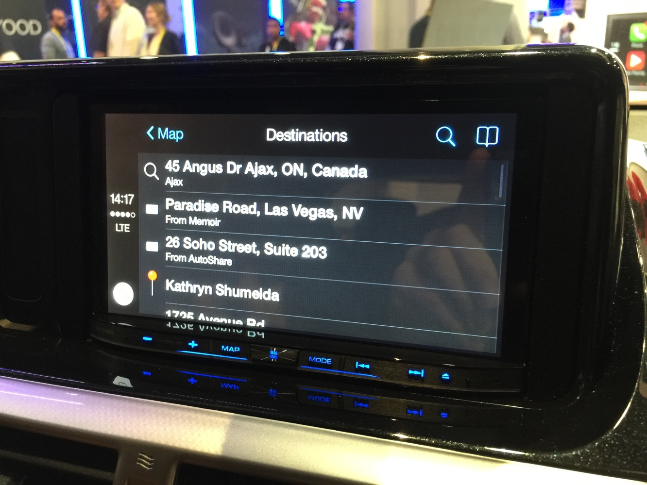 Hands-on with CarPlay at CES 2015 9