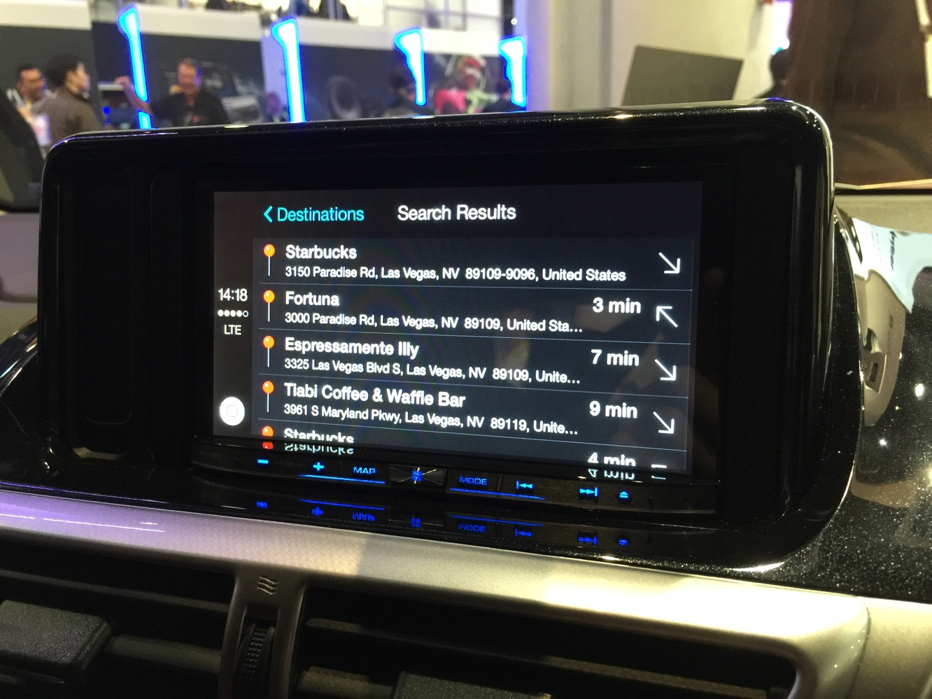 Hands-on with CarPlay at CES 2015 10