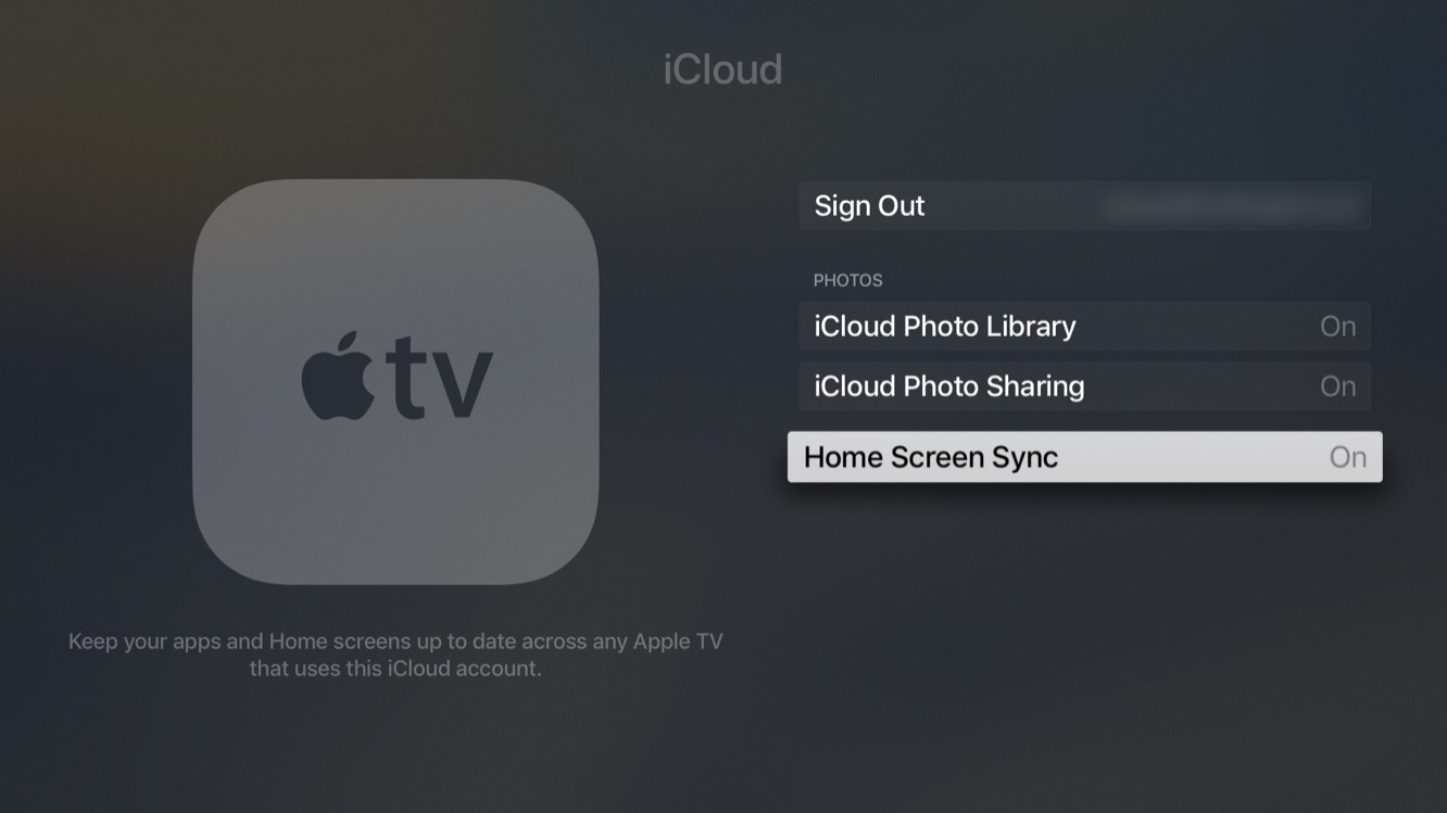 Inside the betas: tvOS 11 adds auto Dark Mode, iCloud Home Screen Sync 4