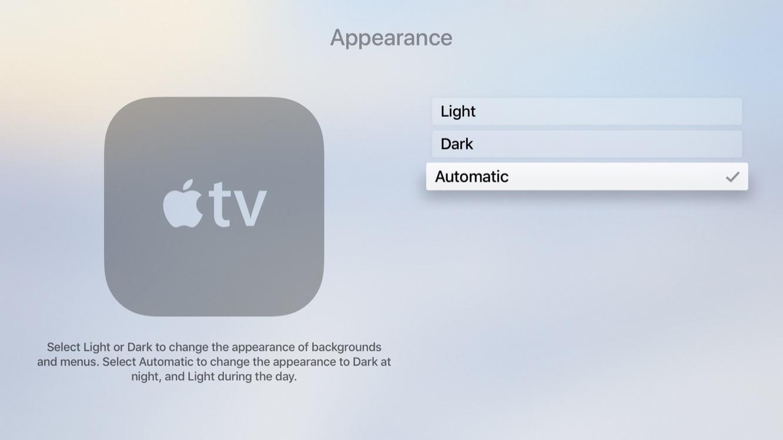 Inside the betas: tvOS 11 adds auto Dark Mode, iCloud Home Screen Sync