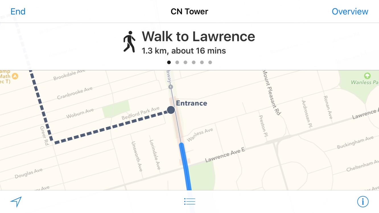 A First Look at iOS 9's Transit in Apple Maps (Updated for watchOS 2)