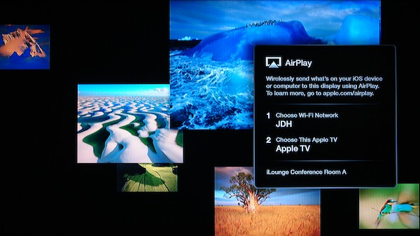 Apple tv Network Settings Network Name And Apple tv