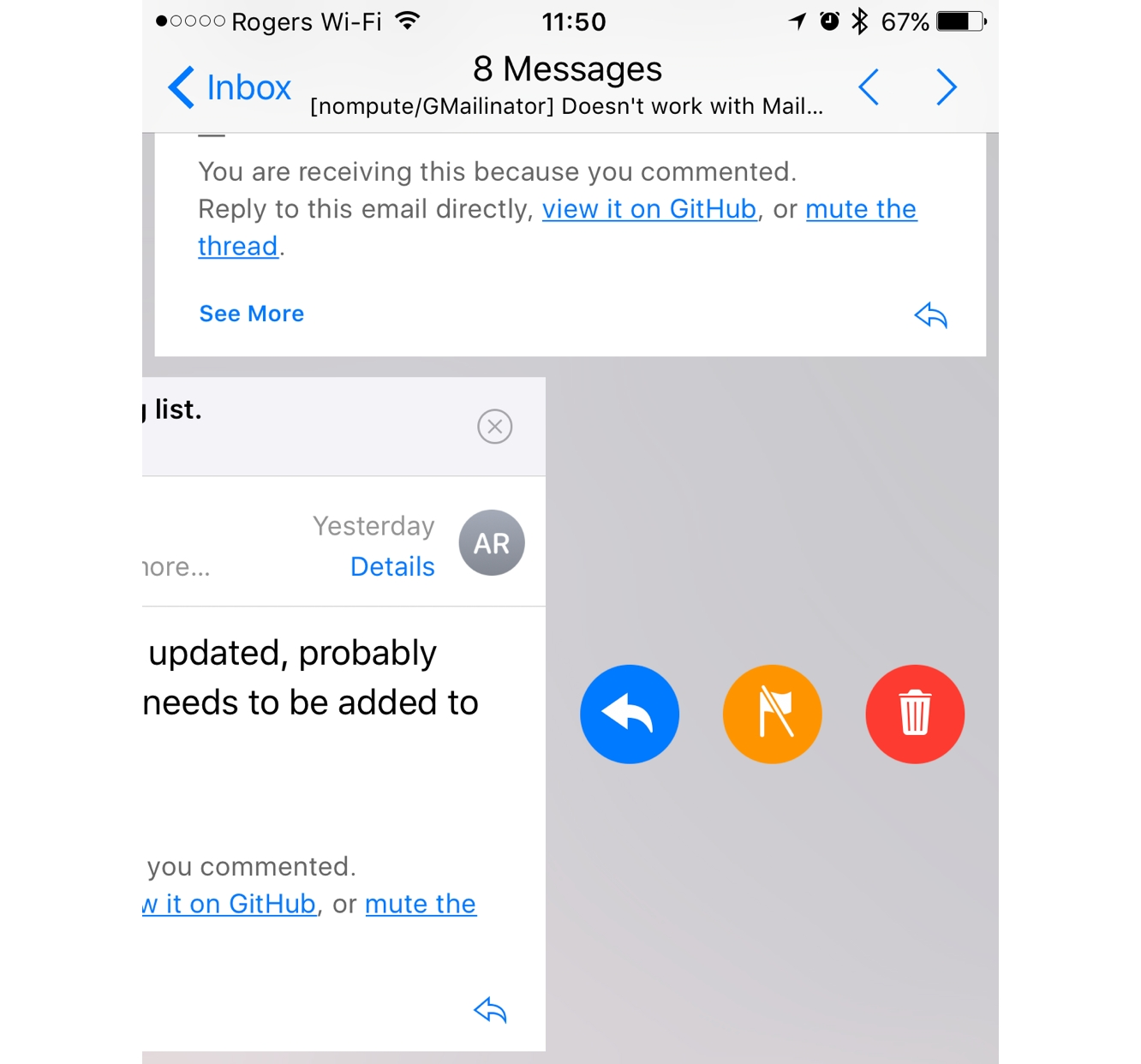 Working with Threads in iOS 10 Mail