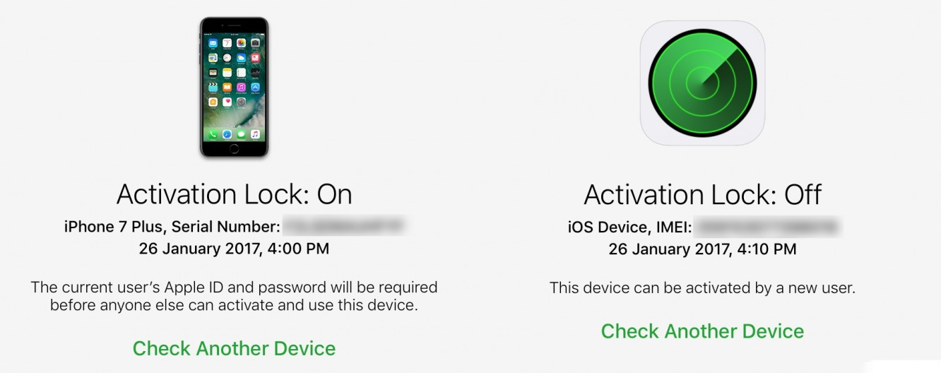 Checking Activation Lock Status before purchasing an iOS Device