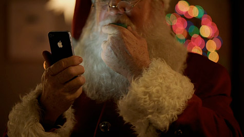 Apple airs new iPhone 4S TV ad: 'Santa' 1