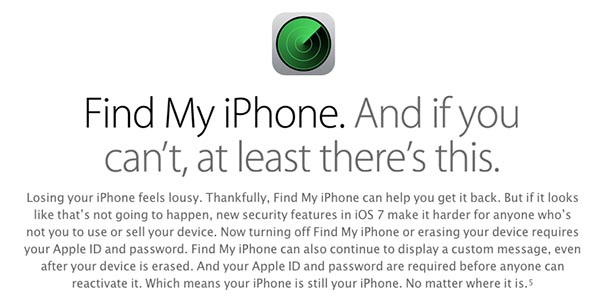 ios 7 activation lock find my iphone ilounge article. Black Bedroom Furniture Sets. Home Design Ideas