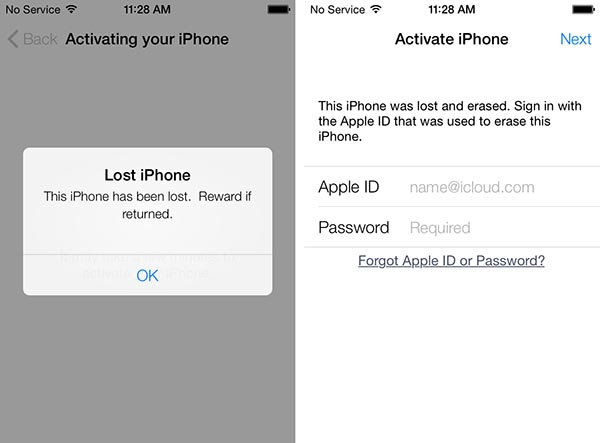 iOS 7: Activation Lock + Find My iPhone