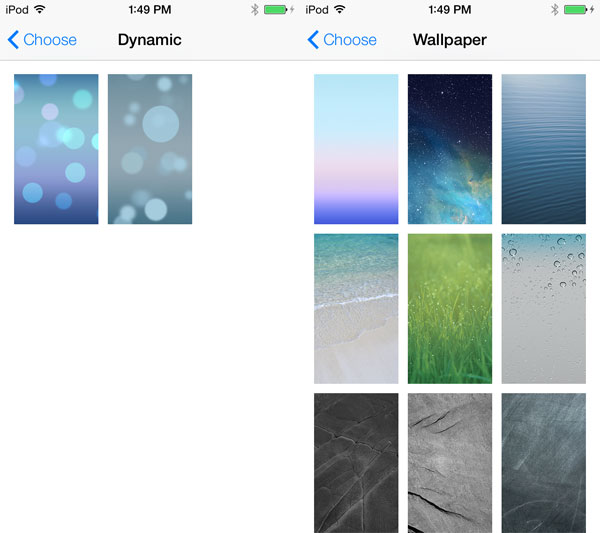 iOS 7: The New Lock Screen + Home Screen