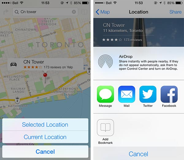 iOS 7: Maps, Passbook, Compass + Notes 2