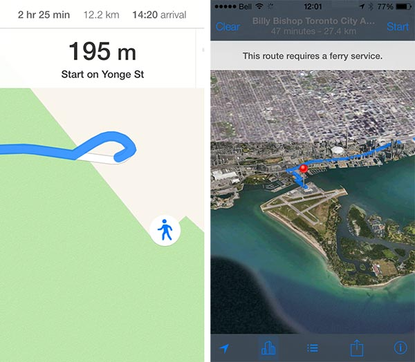iOS 7: Maps, Passbook, Compass + Notes 5