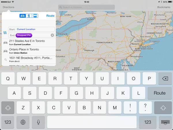 iOS 7: Maps, Passbook, Compass + Notes 14