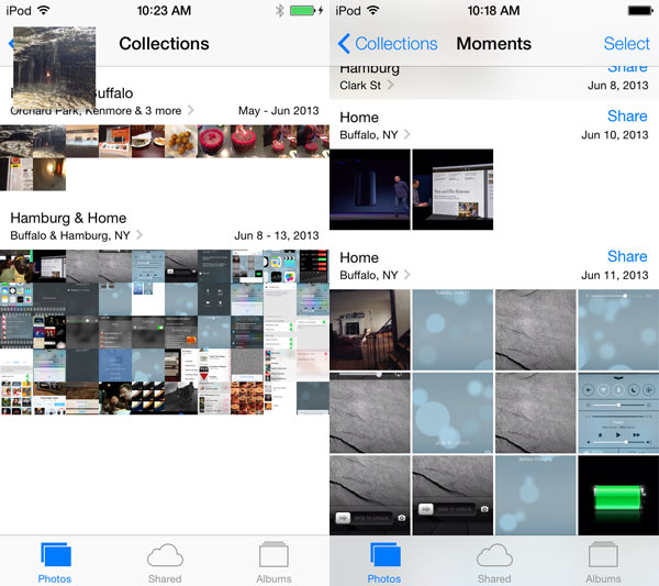 iOS 7: Music, Videos, Photos + Camera 17