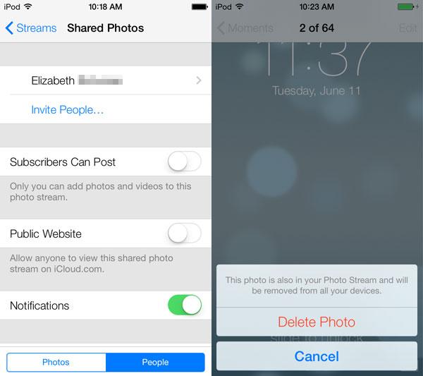 iOS 7: Music, Videos, Photos + Camera 20