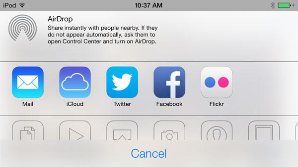 iOS 7: Music, Videos, Photos + Camera 18