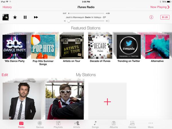 iOS 7: Music, Videos, Photos + Camera 8