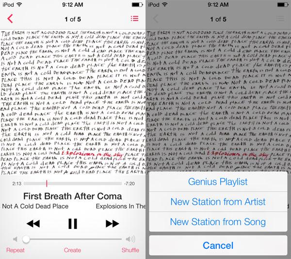 iOS 7: Music, Videos, Photos + Camera 2