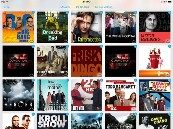 iOS 7: Music, Videos, Photos + Camera 14