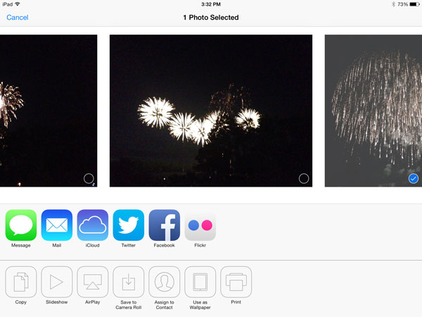 iOS 7: Music, Videos, Photos + Camera
