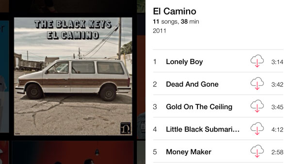 iOS 7: Music, Videos, Photos + Camera 4