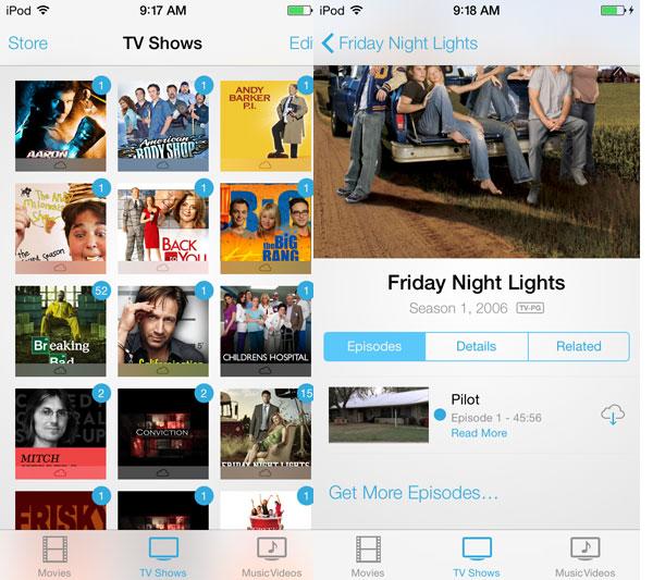 iOS 7: Music, Videos, Photos + Camera 11