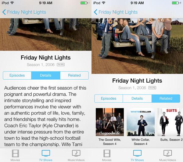 iOS 7: Music, Videos, Photos + Camera 12