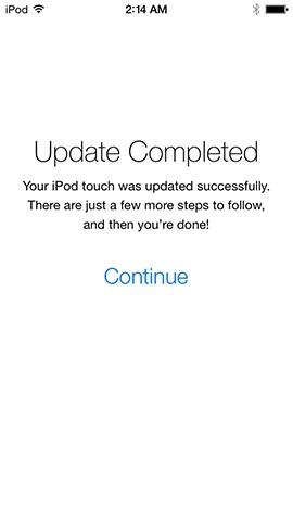 iOS 7: First-Time Set Up or Upgrading From iOS 6 10