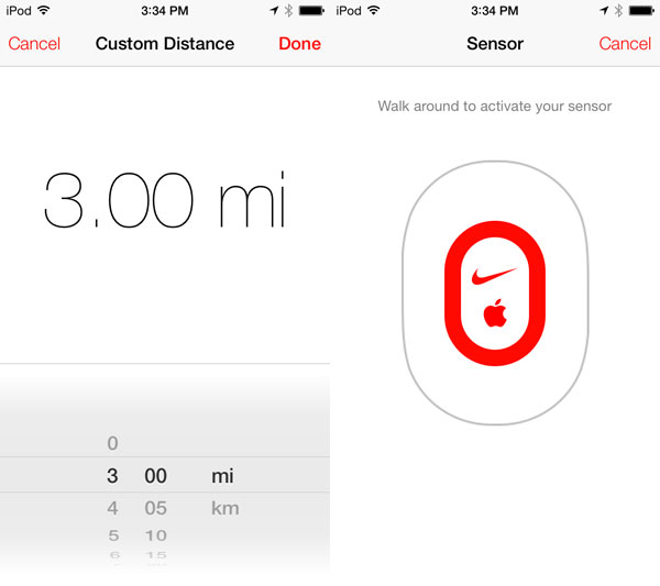 iOS 7: Nike + iPod, Photo Booth + Voice Memos