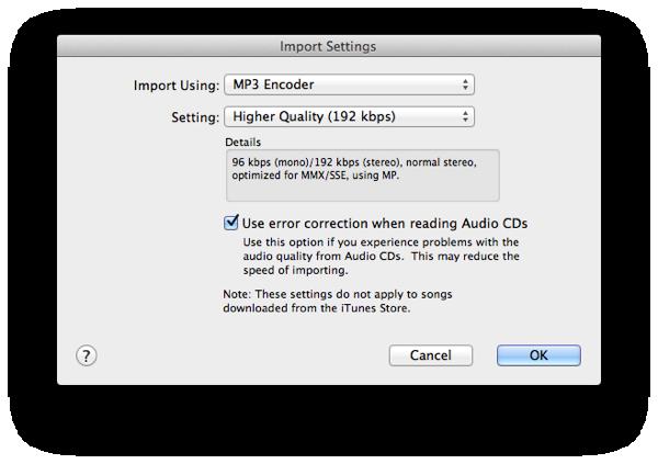 Burning MP3 CDs
