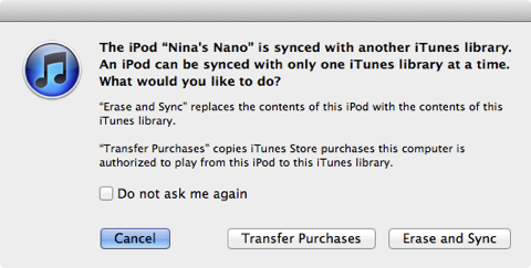 Transferring Apps to a new iTunes library