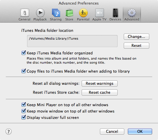 Preventing deleted tracks from coming back from an iOS device