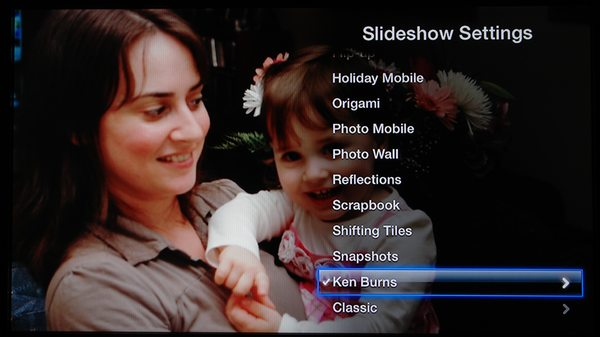 Setting up Apple TV Slideshows to fill the screen 4