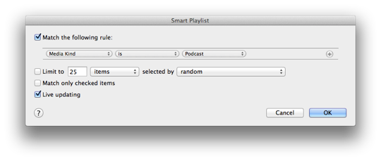Tracking down phantom Podcasts in iTunes 1