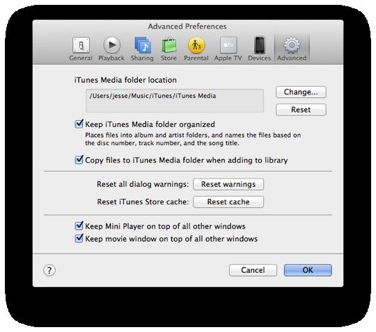 Creating an iTunes Match library from an external hard drive