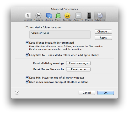 Consolidating Multiple iTunes Libraries 1