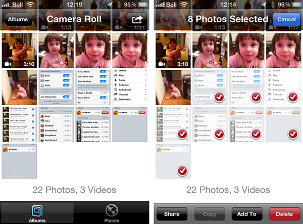 Deleting Camera Roll photos after uploading to Photo Stream