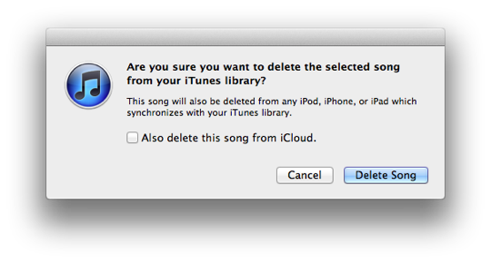 Moving an iTunes library with iTunes Match enabled 1