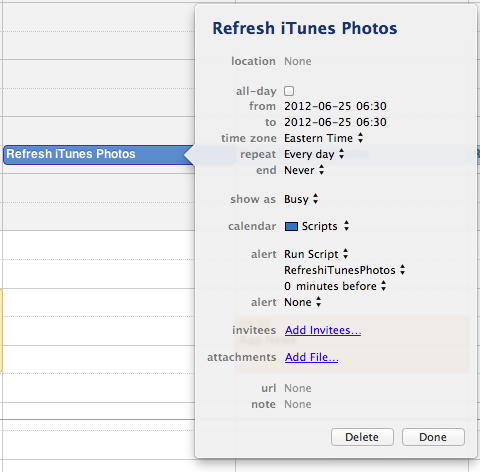 Automatically Refreshing Photos in iTunes for Apple TV