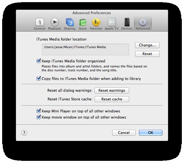 Merge separate App and Media libraries