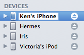 Assigning an older iPhone to another family member