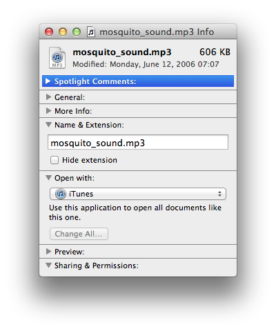 Preventing iTunes from automatically opening audio files 1