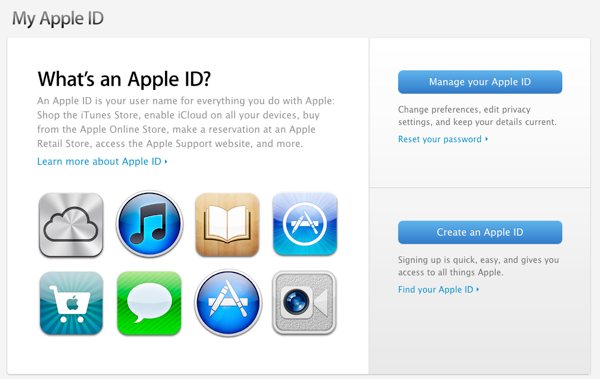Moving an iTunes account to a new e-mail address 1