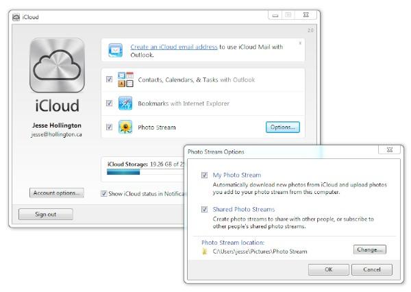 Using Shared Photo Streams on Windows 7 1