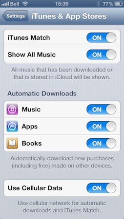 Sharing iBooks between iOS devices 1