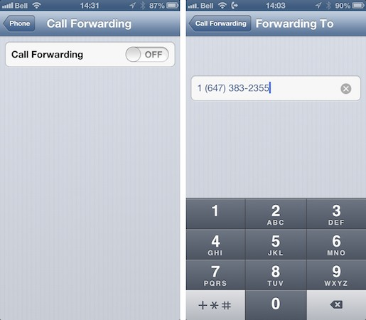 Sending all iPhone calls to voicemail 2