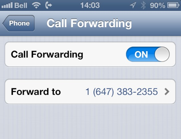 Sending all iPhone calls to voicemail 4