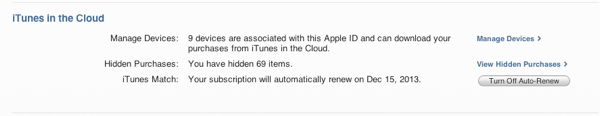 iTunes in the Cloud limitations on iOS devices 4