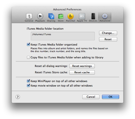 Burning music to CD using iTunes on another computer 2
