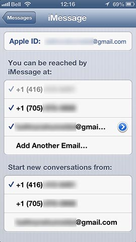 Contacts and iMessages appearing on multiple iPhones